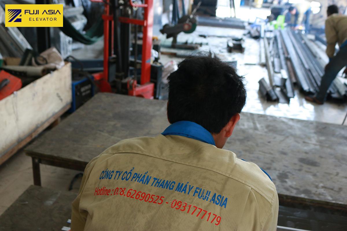 xưởng thang máy fuji asia
